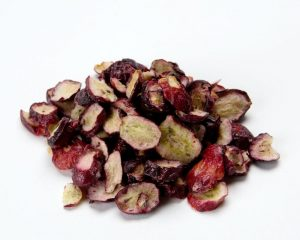 Freeze Dried Sliced Red Seedless Grapes