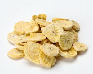 Freeze Dried Sliced Bananas